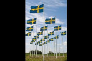Svensktillverkade flaggstänger