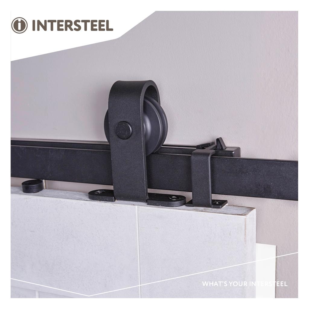 Komplett skjutdörrsbeslag från Intersteel