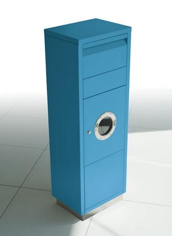 Paketpostlåda från Radius Design- Ljusblå RAL5012