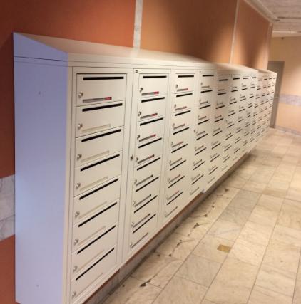 Fastighetsboxar och postboxar godkända av PostNord