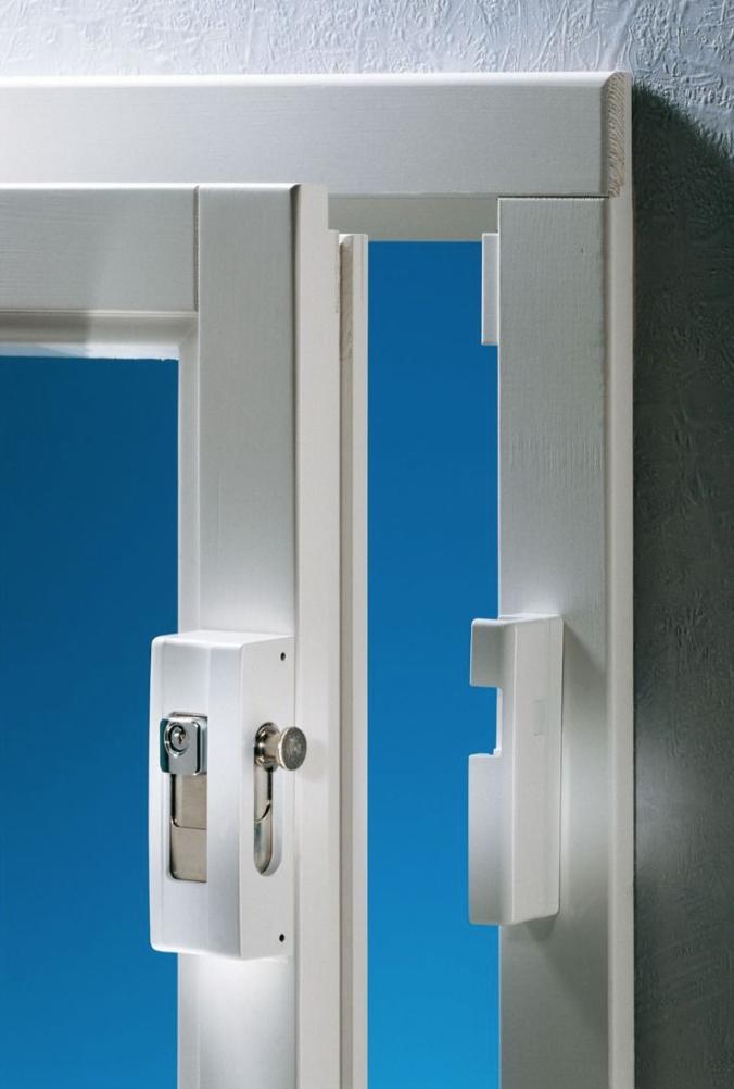 VdS godkänd fönster/dörrsäkring