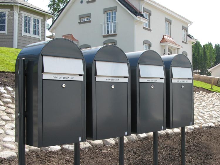 Placering av postlåda
