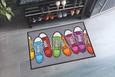 Dörrmatta skor